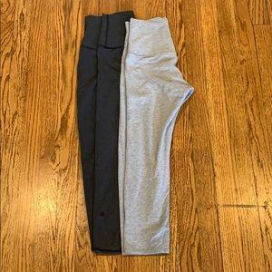 Pants - 2 lululemon crop leggings